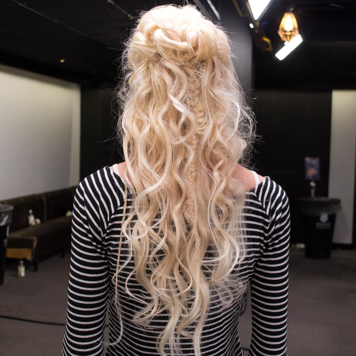 hårfön för lockigt hår