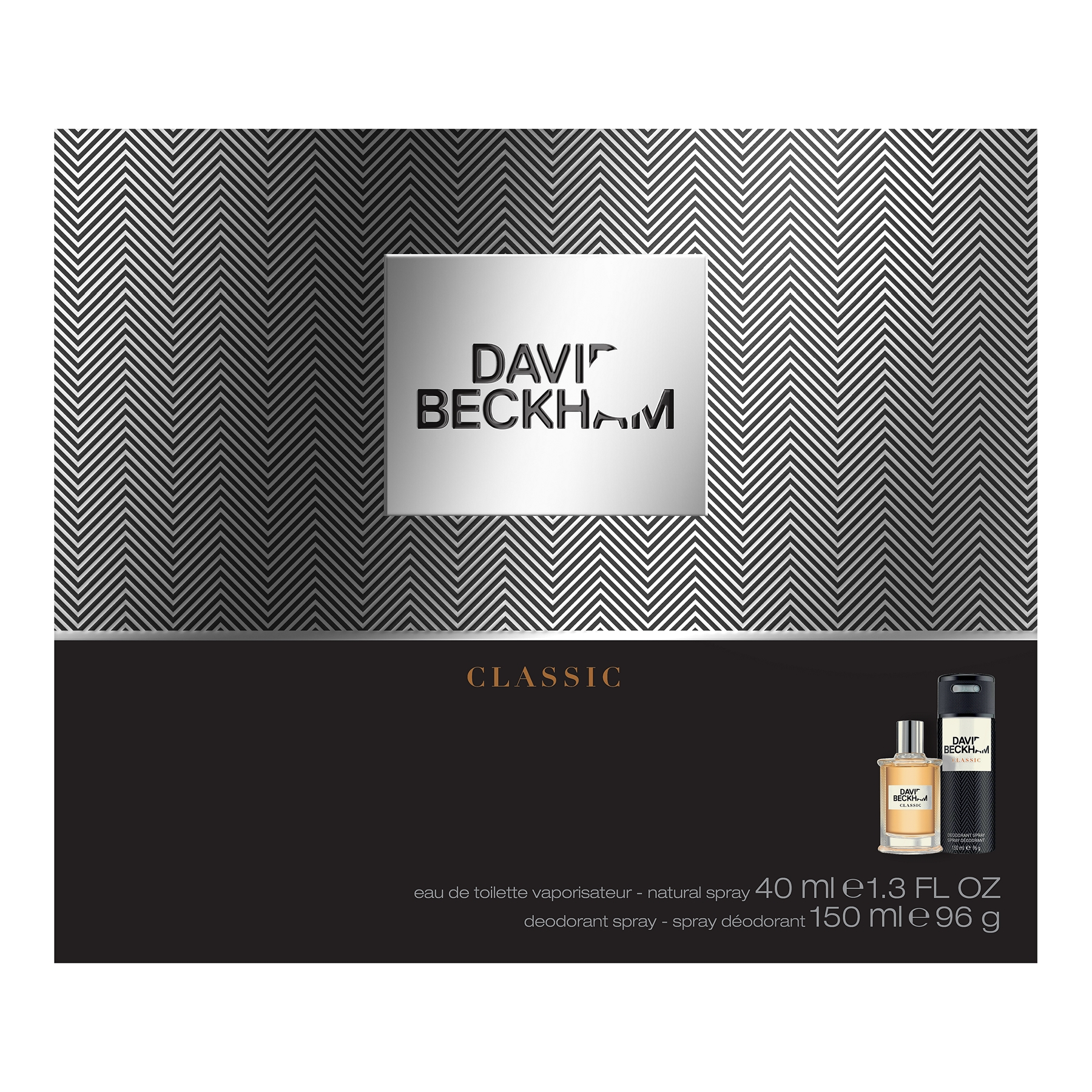 Köp David Beckham Classic Giftset: EdT 40ml+Shower Gel 200ml