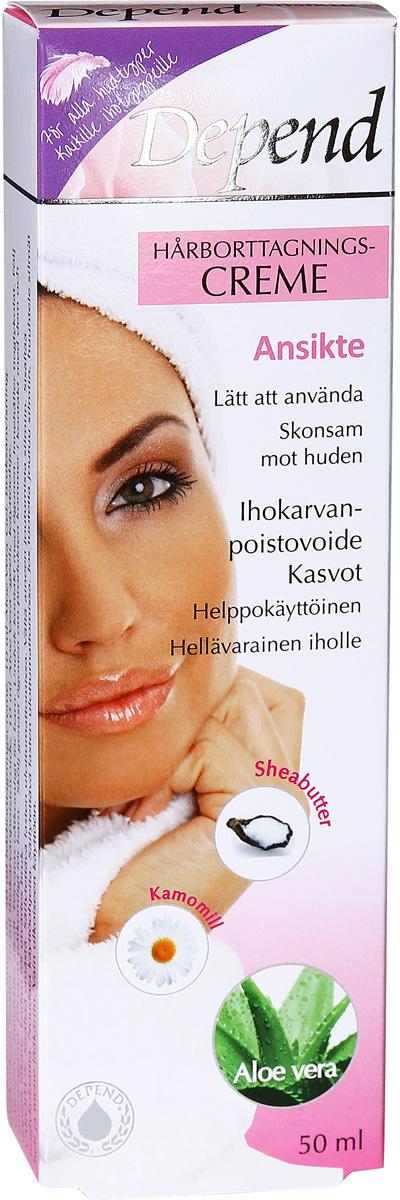 hårborttagningskräm för ansiktet
