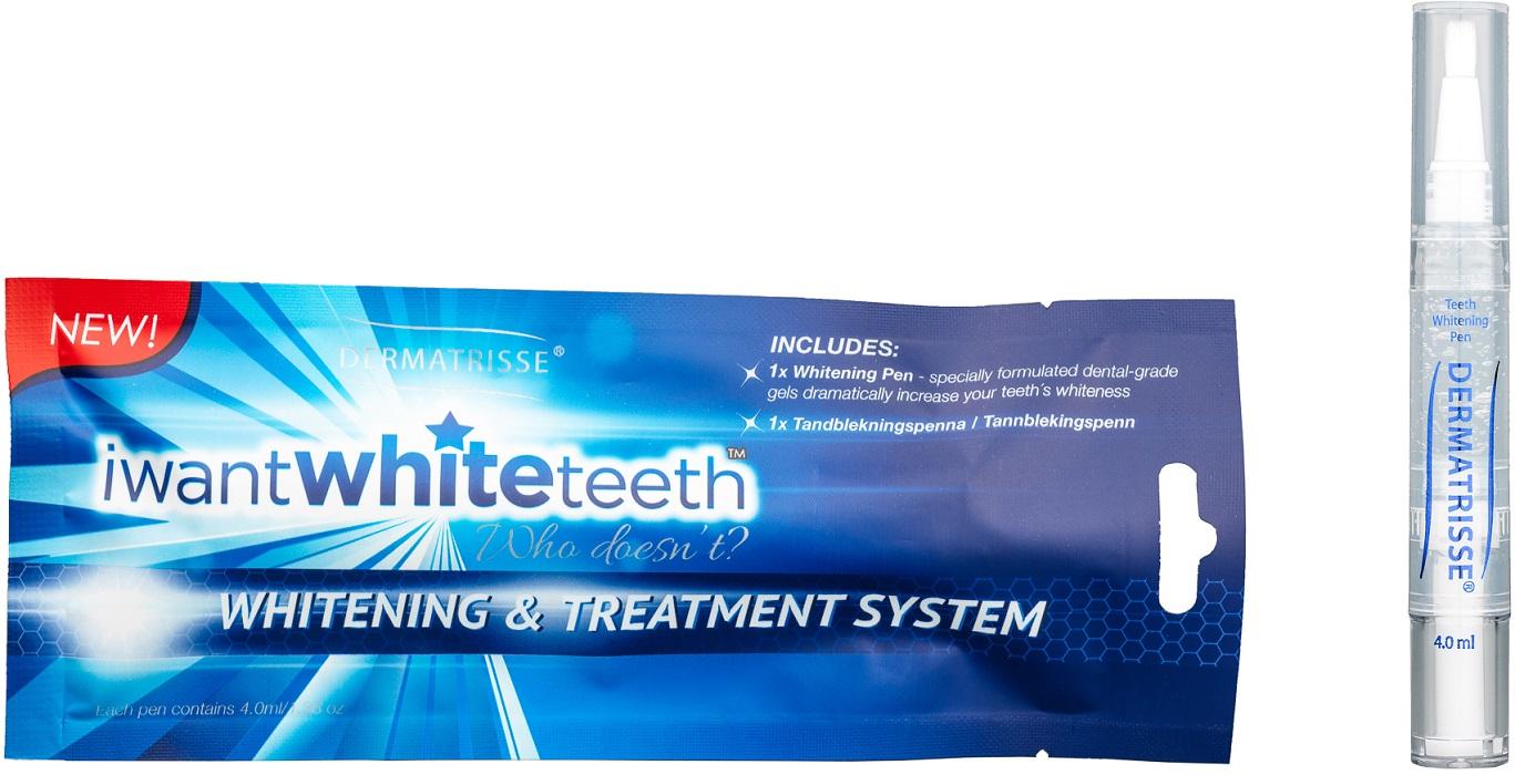 dermatrisse tandblekningspenna recension