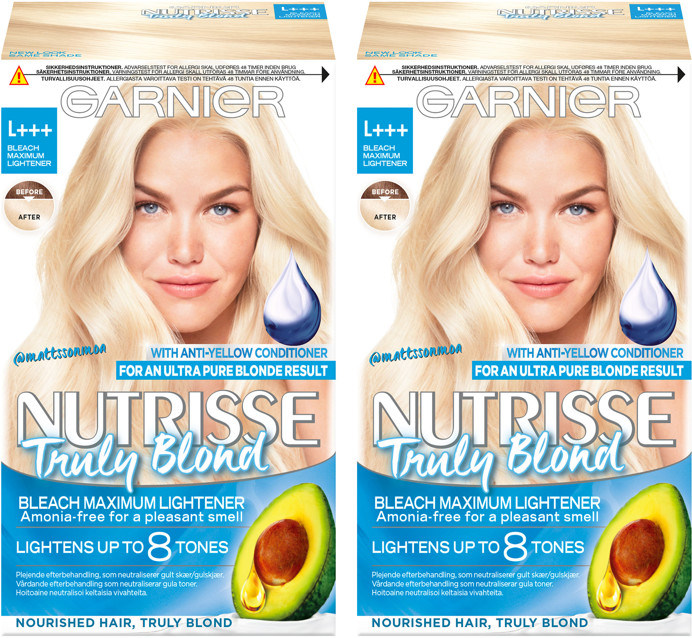 nutrisse truly blond