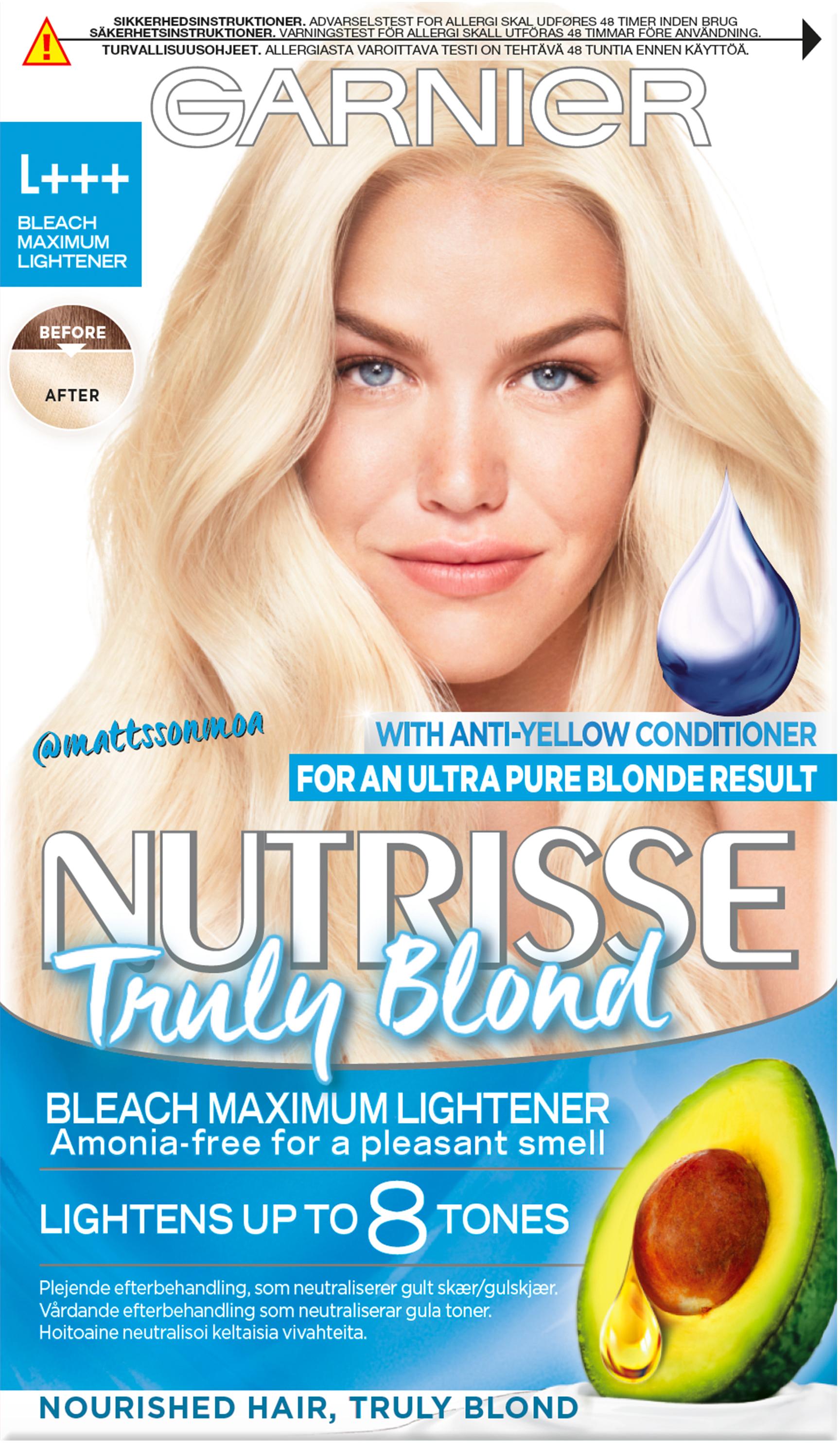blegemiddel til hår