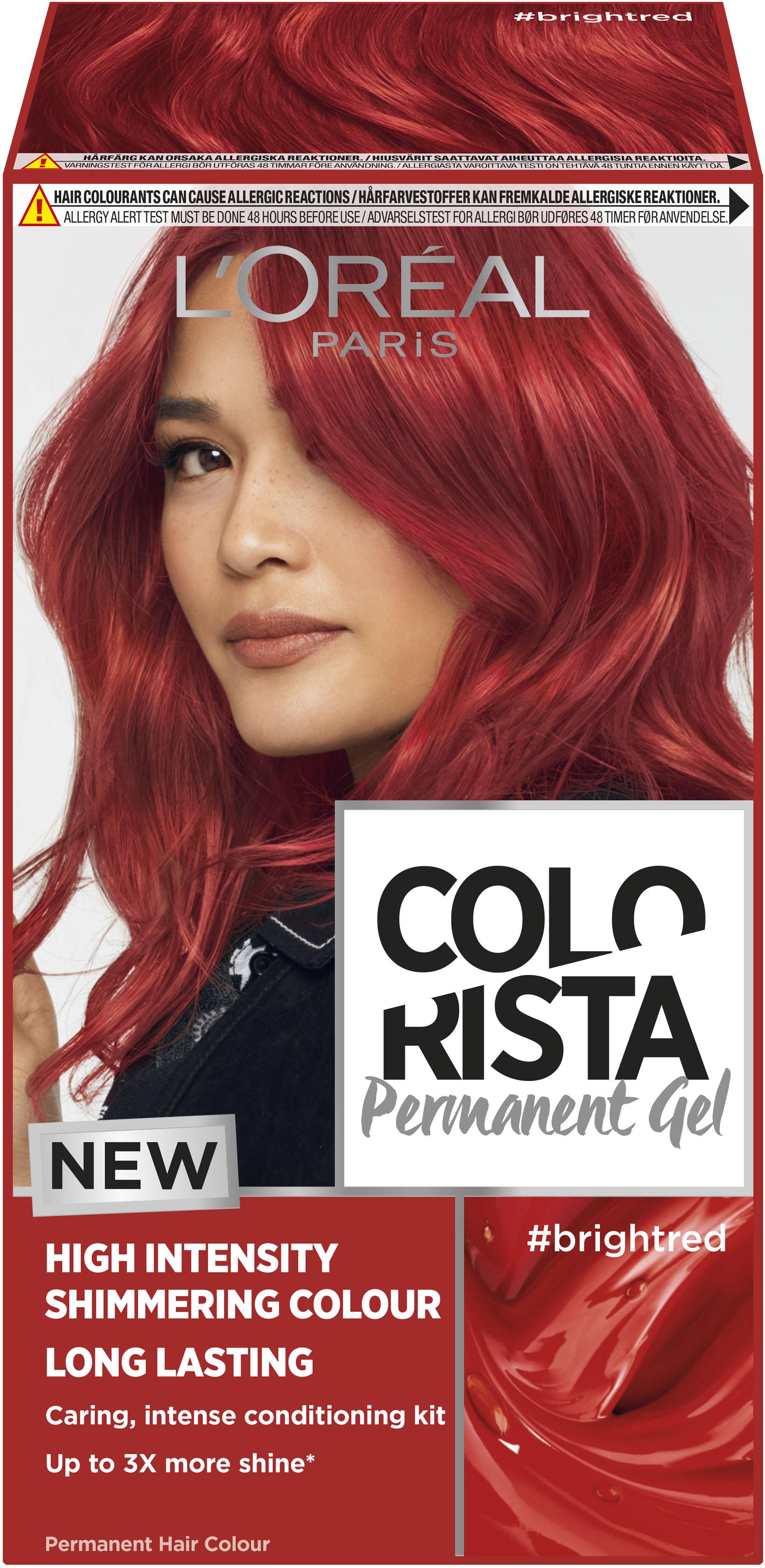 permanent röd hårfärg