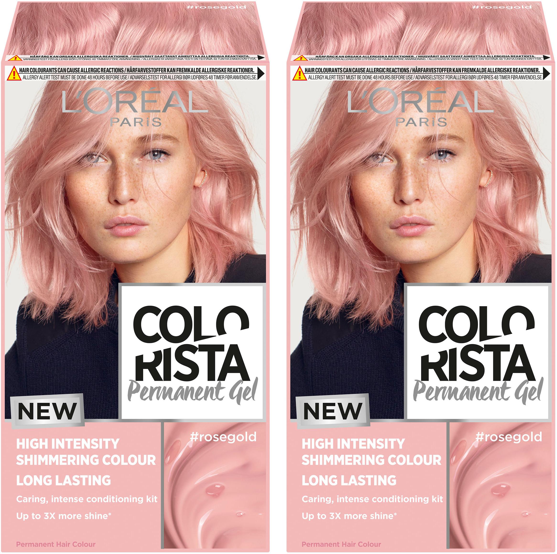 Rose Gold Hair Colorista