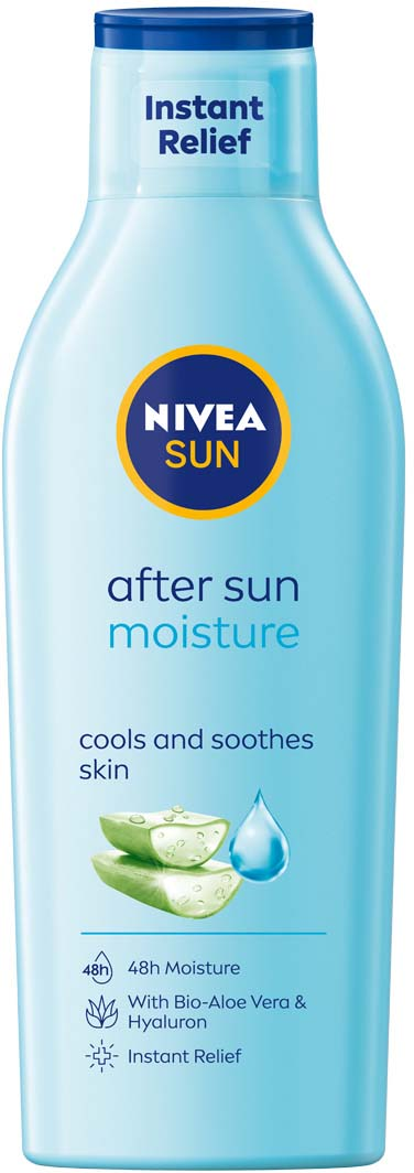 Nivea Sun Moisturizing After Lotion 200 Ml Lyko Com