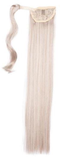 ponytail äkta löshår
