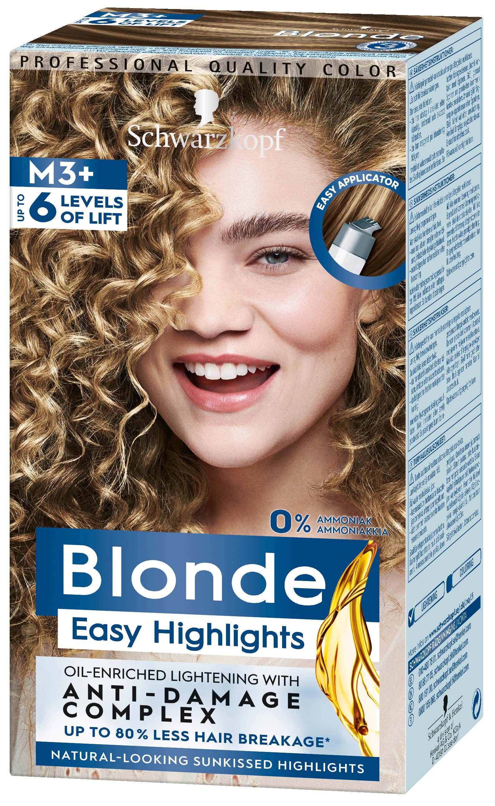 M1 blond schwarzkopf NORDIC BLONDE