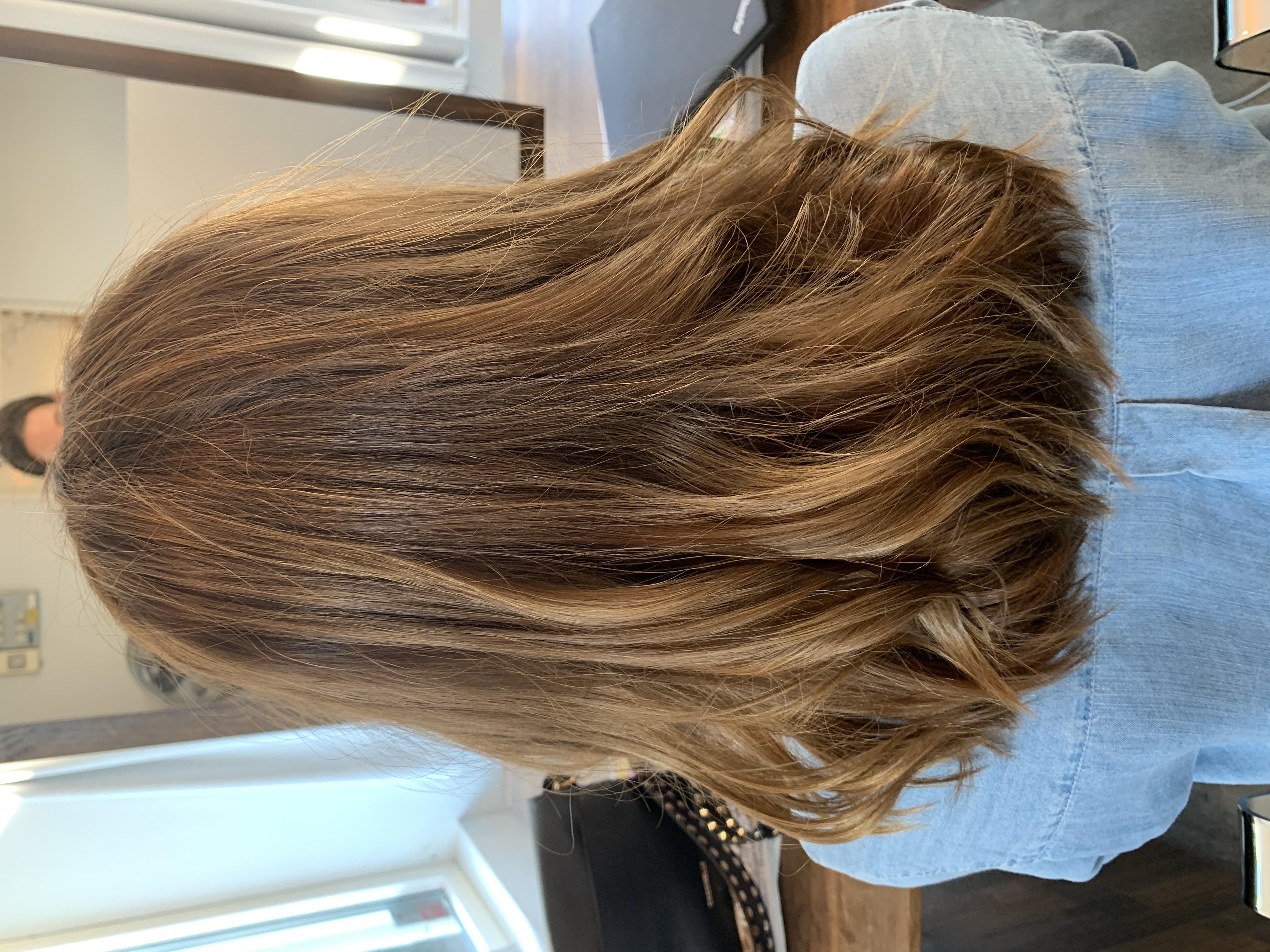 färga håret ljusbrunt hemma