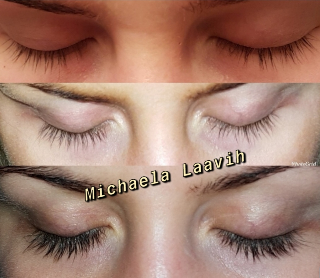 ögonfransserum före efter