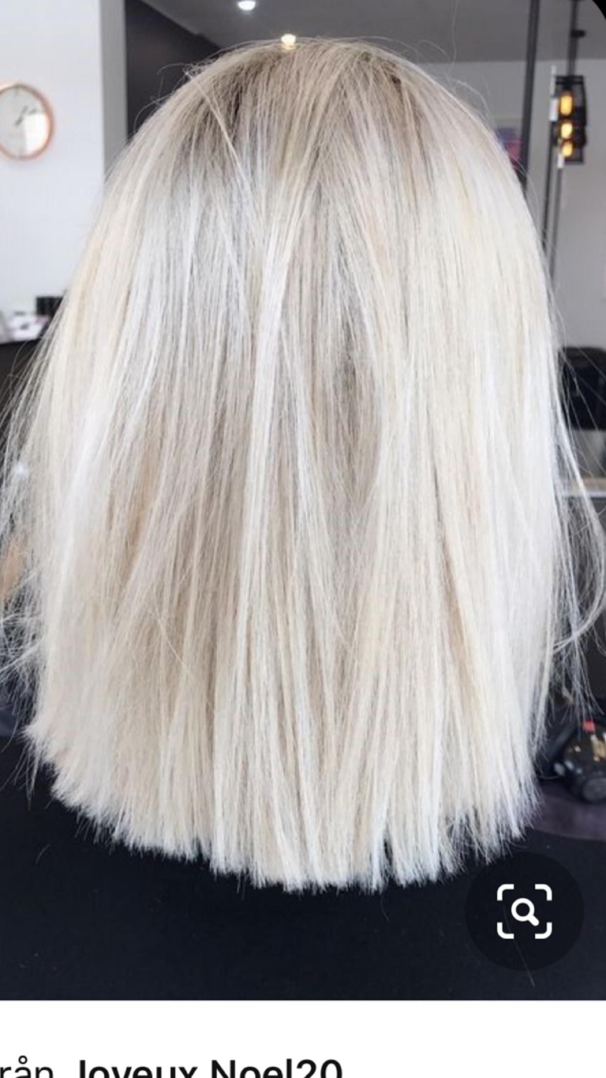 att färga håret