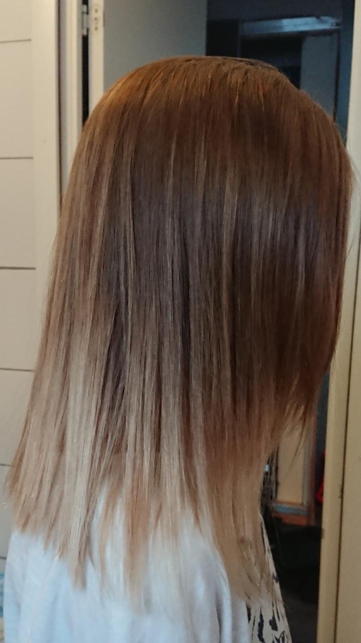 ljusa upp mörkt hår utan blekning